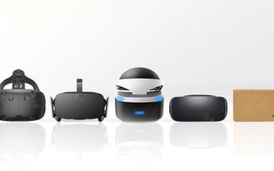 Acerca de las gafas de Realidad Virtual
